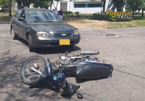 Accidente registrado en Yopal.