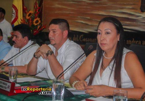 Instalación de sesiones en la Asamblea de Casanare.