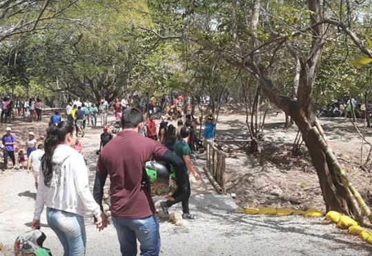 Miles de personas pudieron regresar al Parque La Iguana.