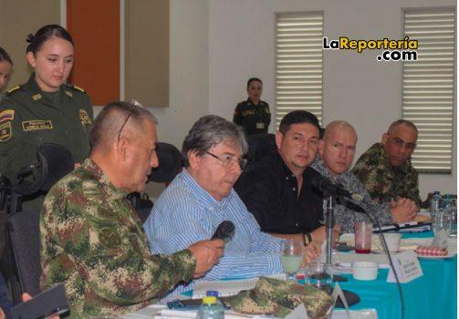 Consejo Seguridad realizado en Yopal - 29 de enero