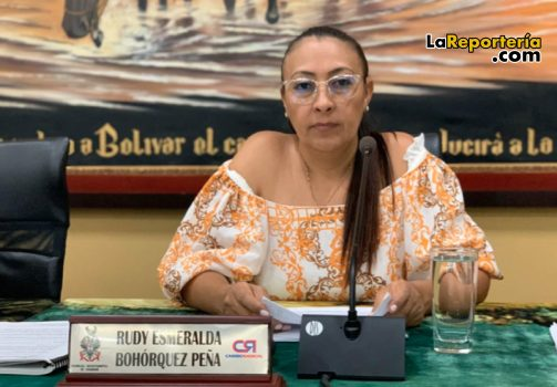 Diputada Esmeralda Bohórquez.