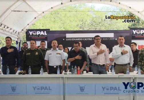 Consejo de Seguridad en Yopal.
