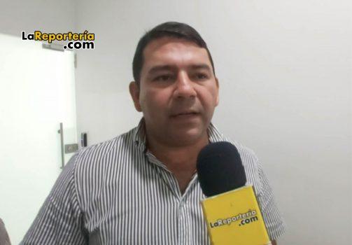 William Roa alcalde de Sabanalarga.