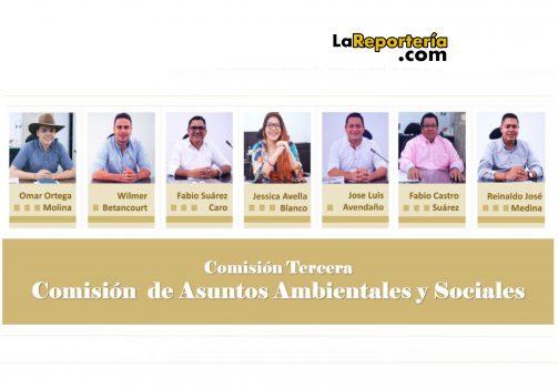 Comisión Asuntos Ambientales y Sociales.