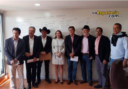 Reunión con Miistra de Minas y EnergiaReunión con Miistra de Minas y Energia
