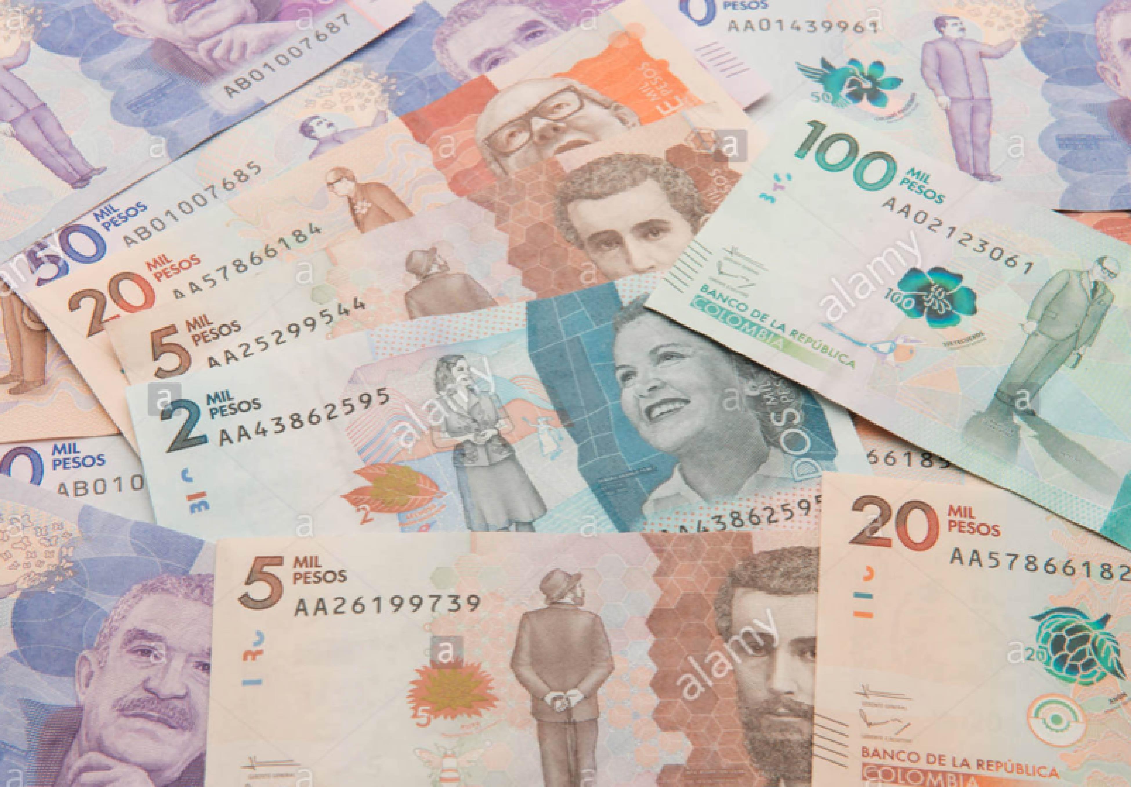 Dinero colombiano-