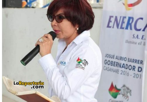María Nidian Larrota, gerente de Enerca.