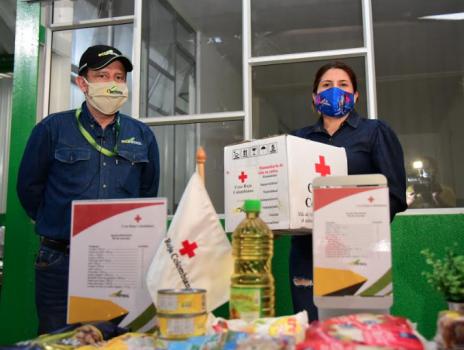 Entrega de ayudas humanitarias de Ecopetrol