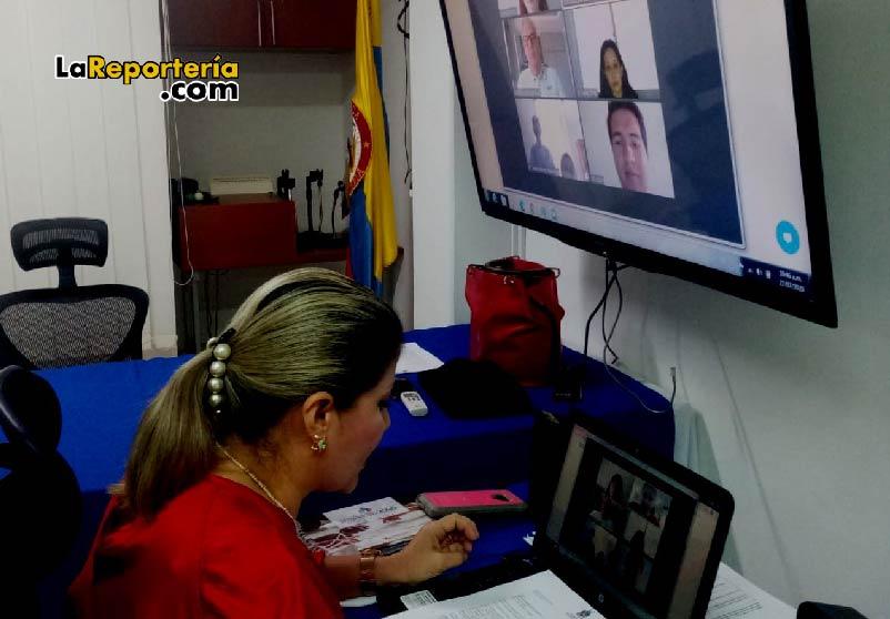 Yaneth Holguín, contralora de Casanare.