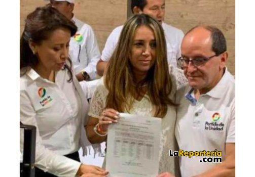Sonia Bernal entregó aval a Judith López en el 2019.